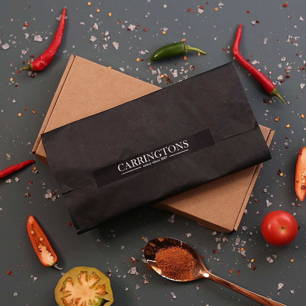 Carrington's Chilli Rub Letterbox Gift Set