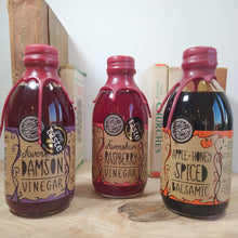 Load image into Gallery viewer, Three Assorted Infused Artisan Fruit & Honey Vinegars