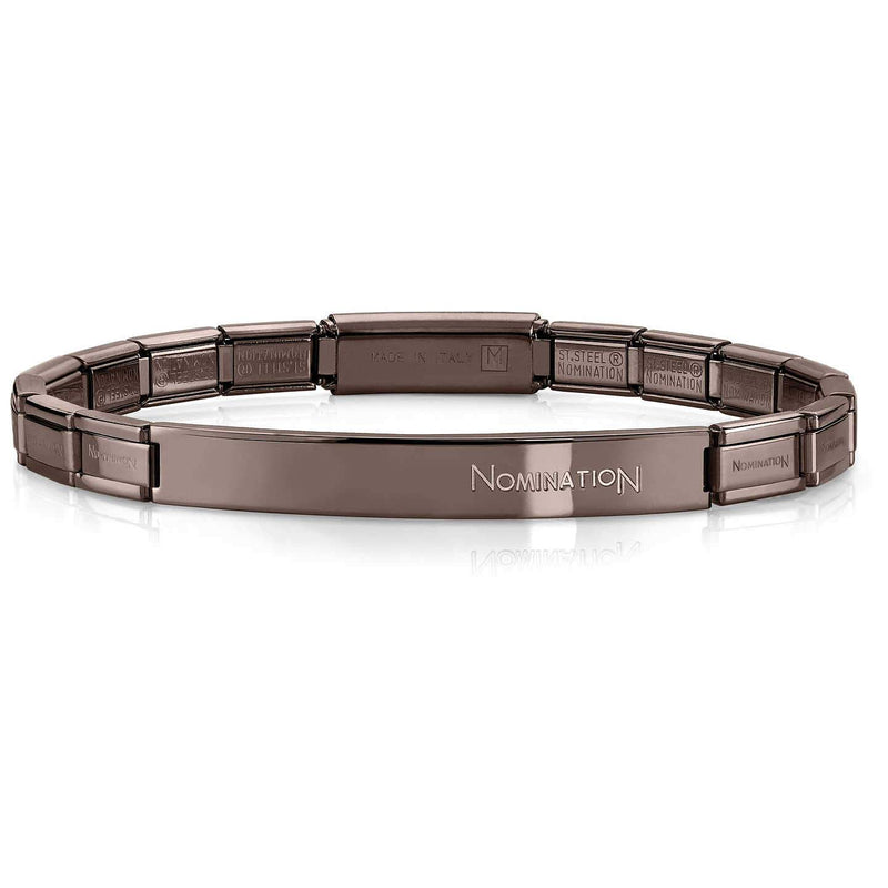 Nomination Italy Stainless Steel Black Bracelet - 021113-015