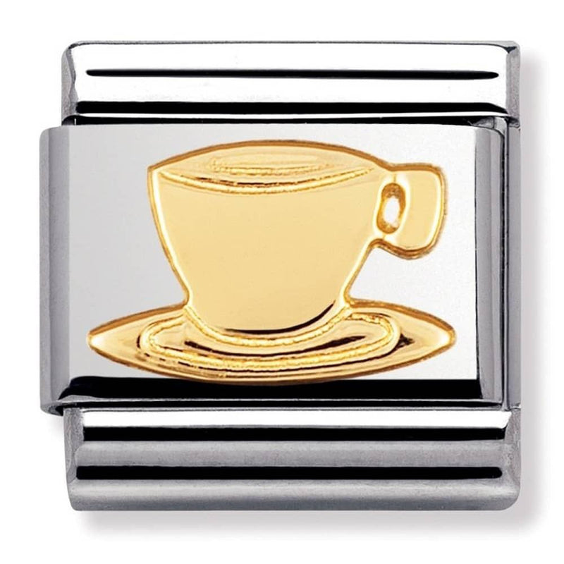 Nomination Italy Composable Gold Cappuchino Link  - 030109-05