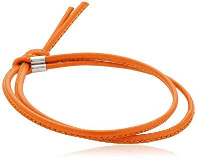 Nomination Italy Bon Bon Orange Leather Bracelet - 065088-012