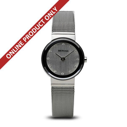 Bering Ladies Classic Quartz Stainless Steel Watch 10122-000