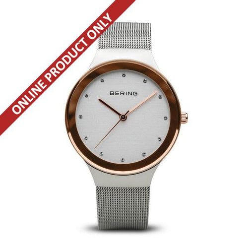 Bering Ladies Classic Quartz Stainless Steel Watch 12934-060
