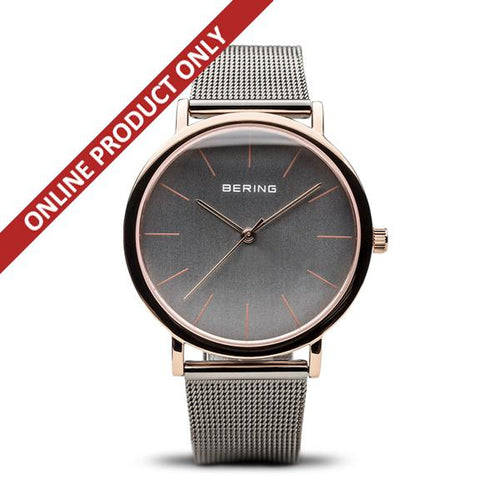 Bering Ladies Quartz Stainless Steel Watch 13436-369