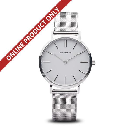 Bering Ladies Stainless Steel Quartz Watch 14134-004