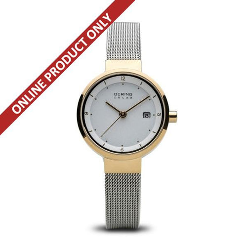 Bering Ladies Classic Quartz Gold Watch 14426-010