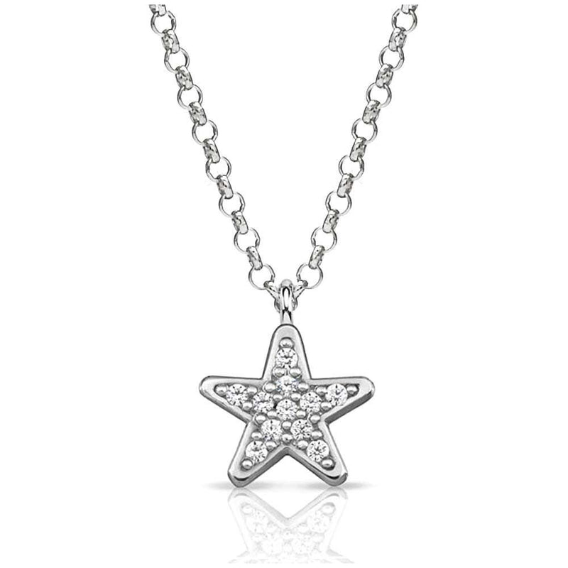 Nomination Italy Stone Set Silver Gioie Star Necklace  - 146201-005