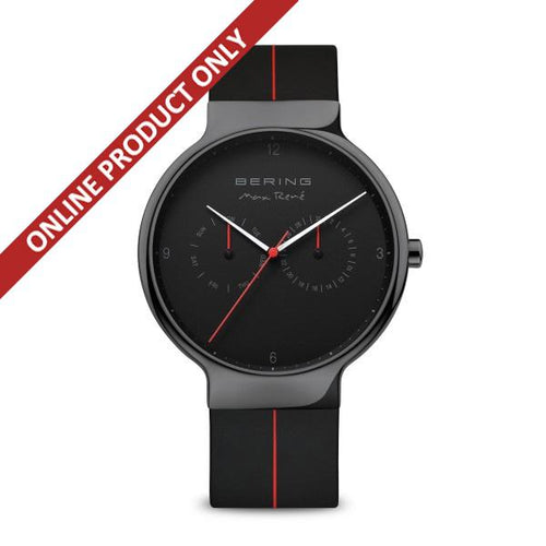 Bering Gents Max Rene Black Quartz Watch 15542-423