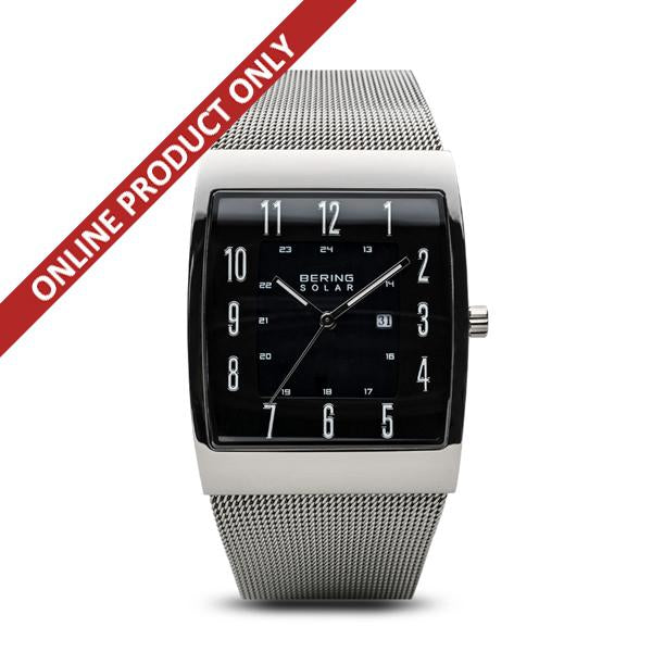 Bering Gents Solar Power Stainless Steel Watch 16433-002