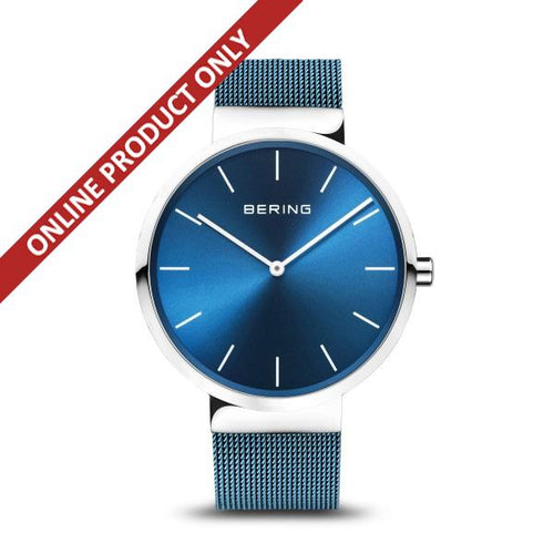 Bering Gents Classic Blue Quartz Watch 16540-308