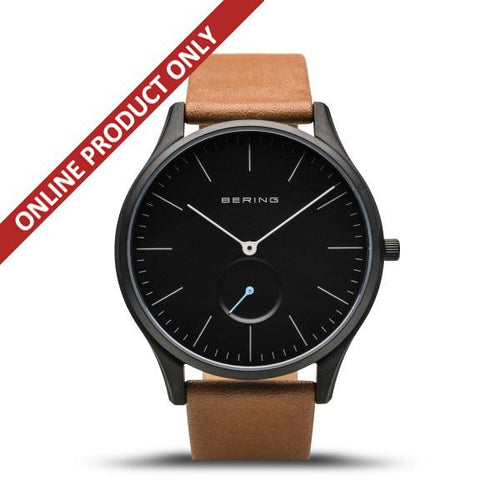 Bering Gents Classic Matt Black Quartz Watch 16641-522