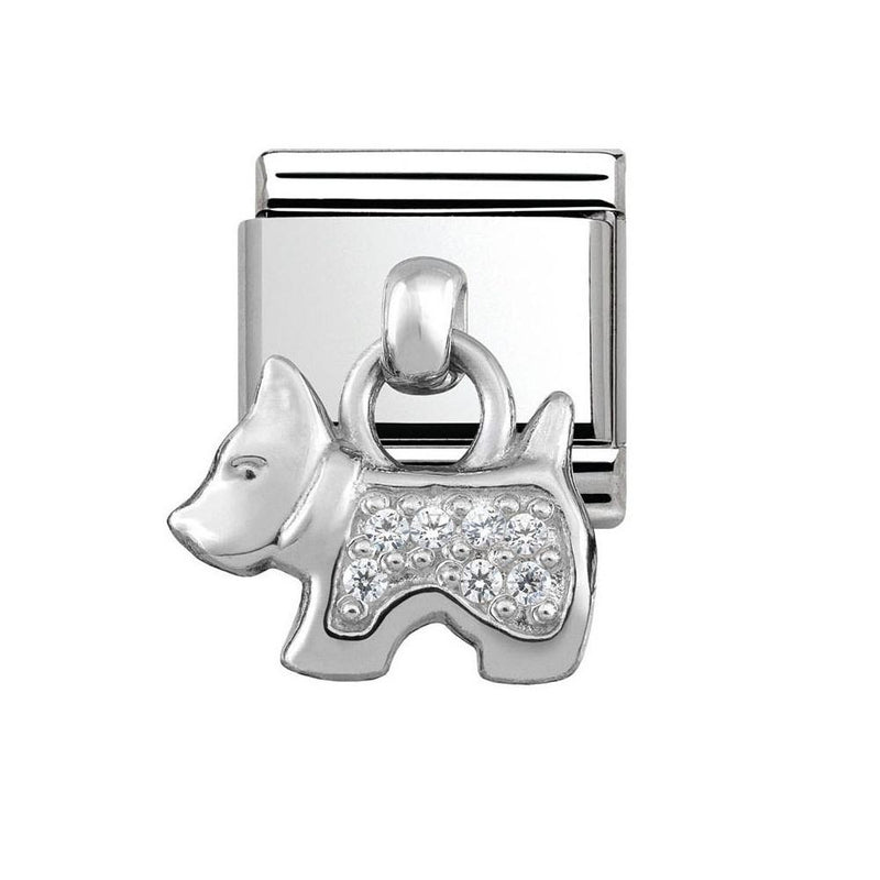 Nomination Italy Composable Dog Charm Link  - 331800-09
