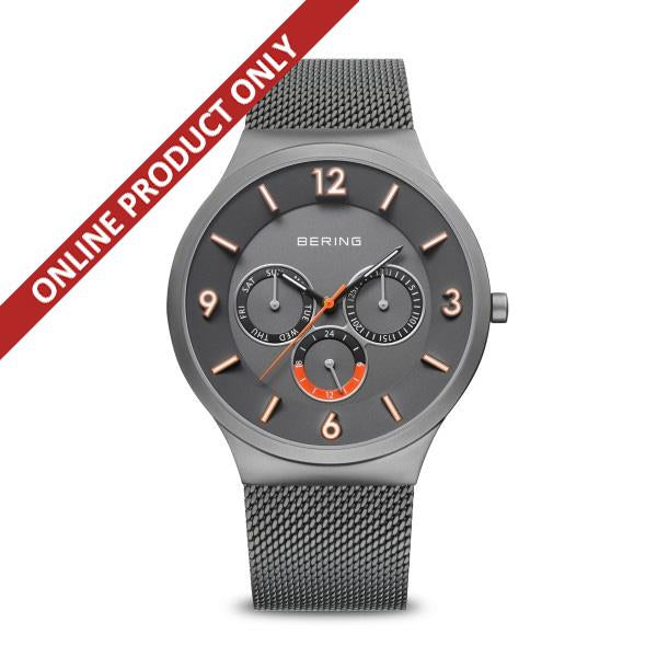 Bering Gents Classic Multi-dial Grey Watch 33441-377