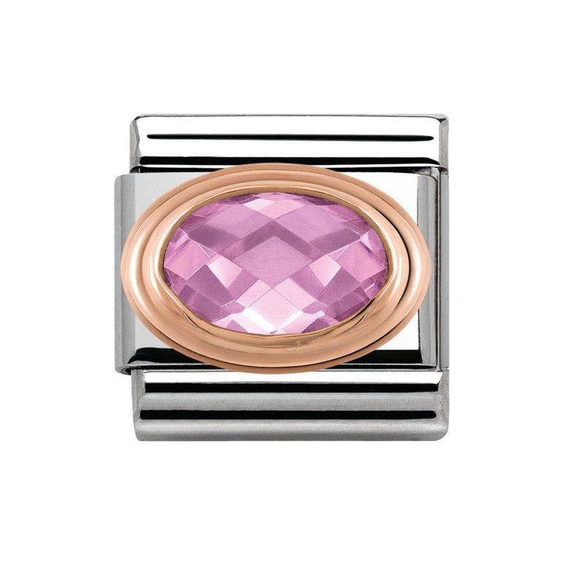 Nomination Italy Composable Pink Couture Stone Link  - 430601-003