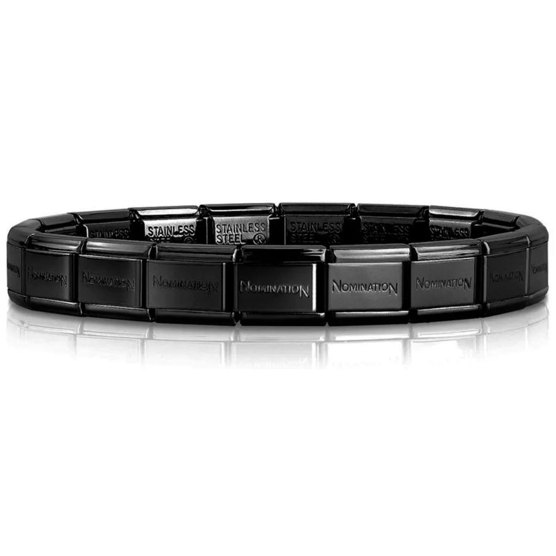 Nomination Italy Classic Black Base Bracelet