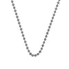 "Hot Diamonds at Hemstocks Jewellers CH016 18"" Sterling Silver Bead Chain"