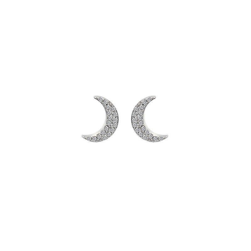 Hot Diamonds at Hemstocks Jewellers DE553 Striking Crescent Earrings