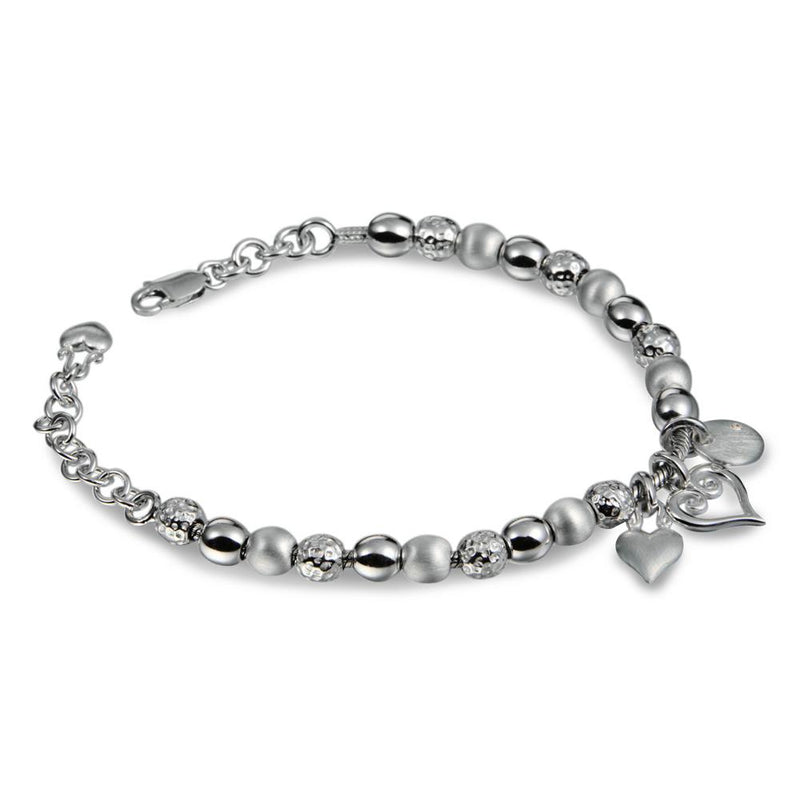 Hot Diamonds at Hemstocks Jewellers DL074 Mingle Silver Bracelet