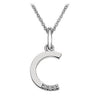 Hot Diamonds at Hemstocks Jewellers DP403 'C' Micro Pendant