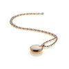 Hot Diamonds at Hemstocks Jewellers DP492 Memoirs Circle Pendant - Rose Gold Plated