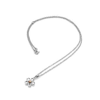 Hot Diamonds Silver Forget Me Not Pendant DP749