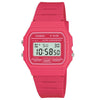 Casio Unisex Classic Alarm Chronograph Digital Pink Watch F-91WC-4AEF