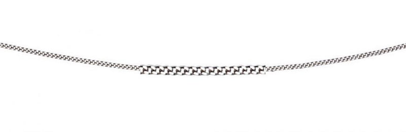 A Diamond Cut Curb Chain Part Of The Norwich Jewellers Hemstocks Range