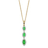 A Marquise 3 Drop Pendant Emerald Yellow Gold Part Of The Norwich Jewellers Hemstocks Range