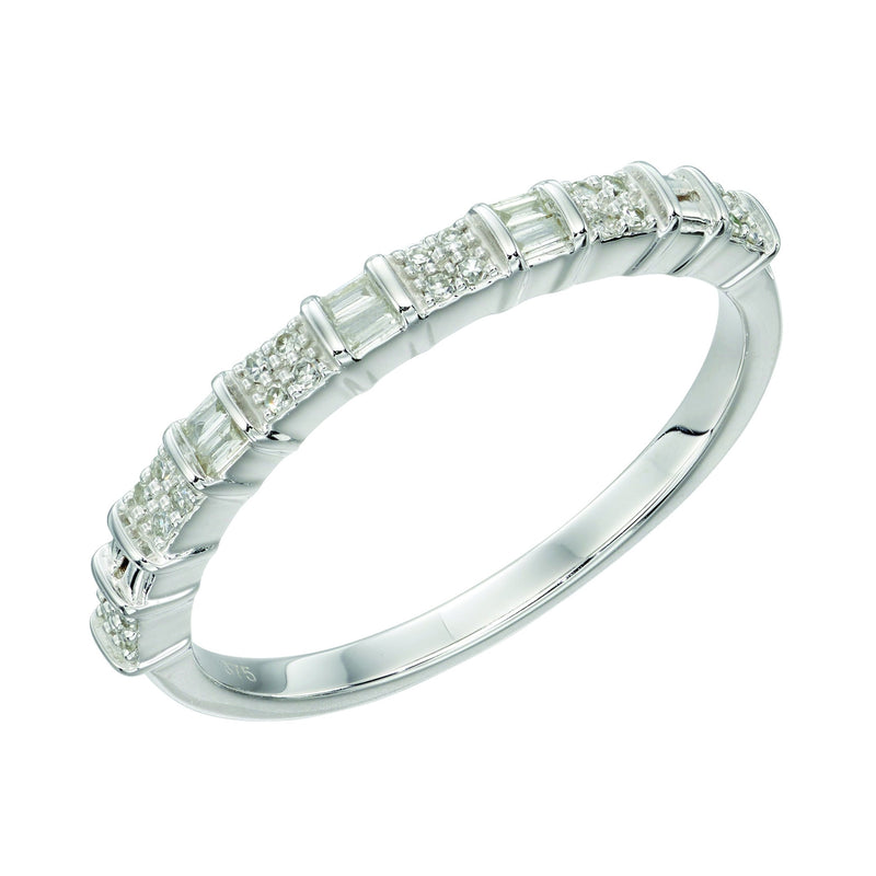 A Baguette Bar Ring White Gold Part Of The Norwich Jewellers Hemstocks Range
