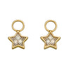 A Earrings Pendant Star With Diamond Set Illusion With Yellow Gold Part Of The Norwich Jewellers Hemstocks Range