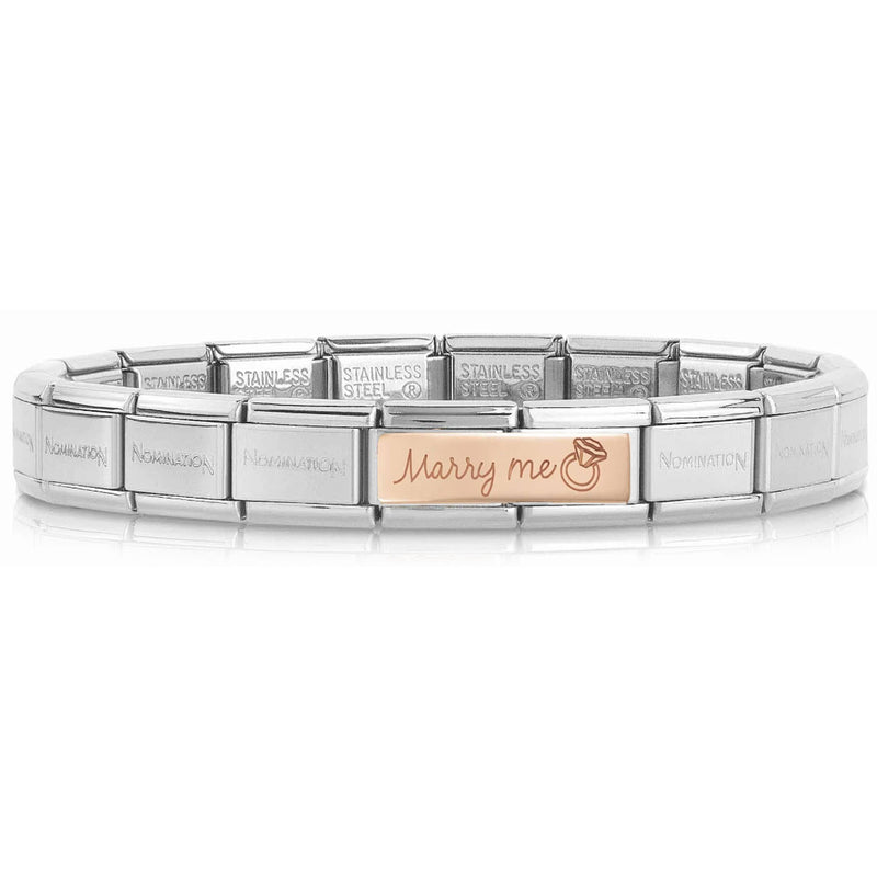 Nomination Marry Me Rose Gold Bracelet