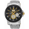 Seiko Men's Stainless Steel Premier Kinetic Watch SNP129P1