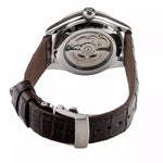 Seiko Men's Stainless Steel Brown Strap Presage automatic SPB059J1