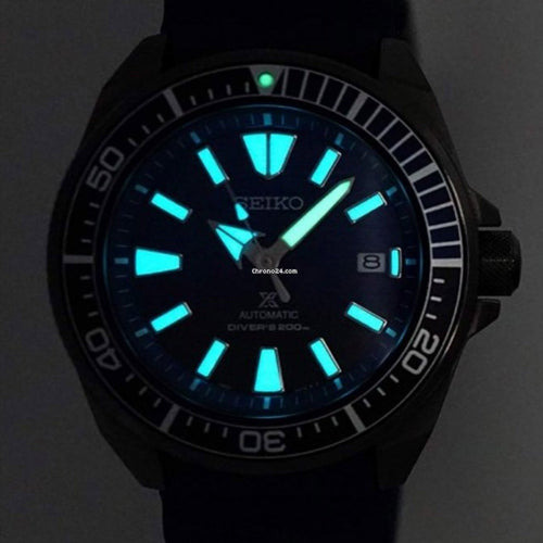 "Seiko Men's Automatic Prospex Diver Samurai ""Save The Ocean"" Watch Black Series SRPD09K1"