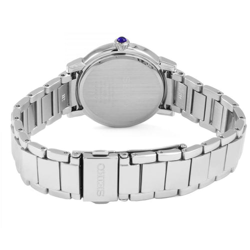 Seiko Ladies Stainless Steel White Dial Quartz Watch SRZ479P1