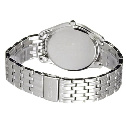 Seiko Men's Stainless Steel Quartz Date Watch SUR299P1