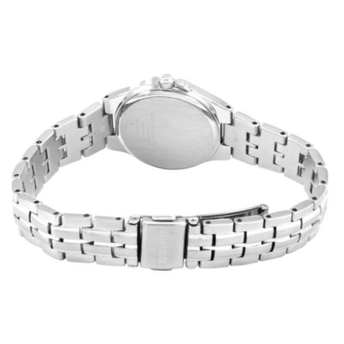 Seiko Ladies Solar Powered Stainless Steel Bracelet Watch SUT043P1