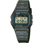 Casio Men's Retro Alarm Chronograph Black Watch W-59-1VQES