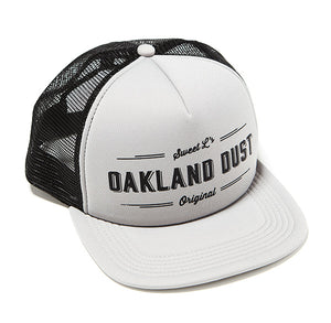 Oakland Dust Trucker Cap Gray and Black