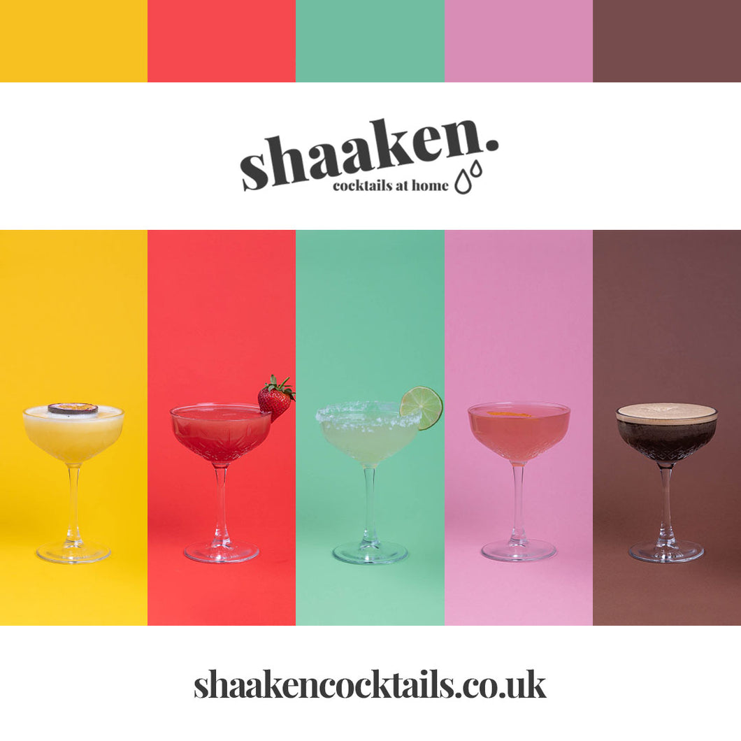 Shaaken cocktails SIGNATURE BOX