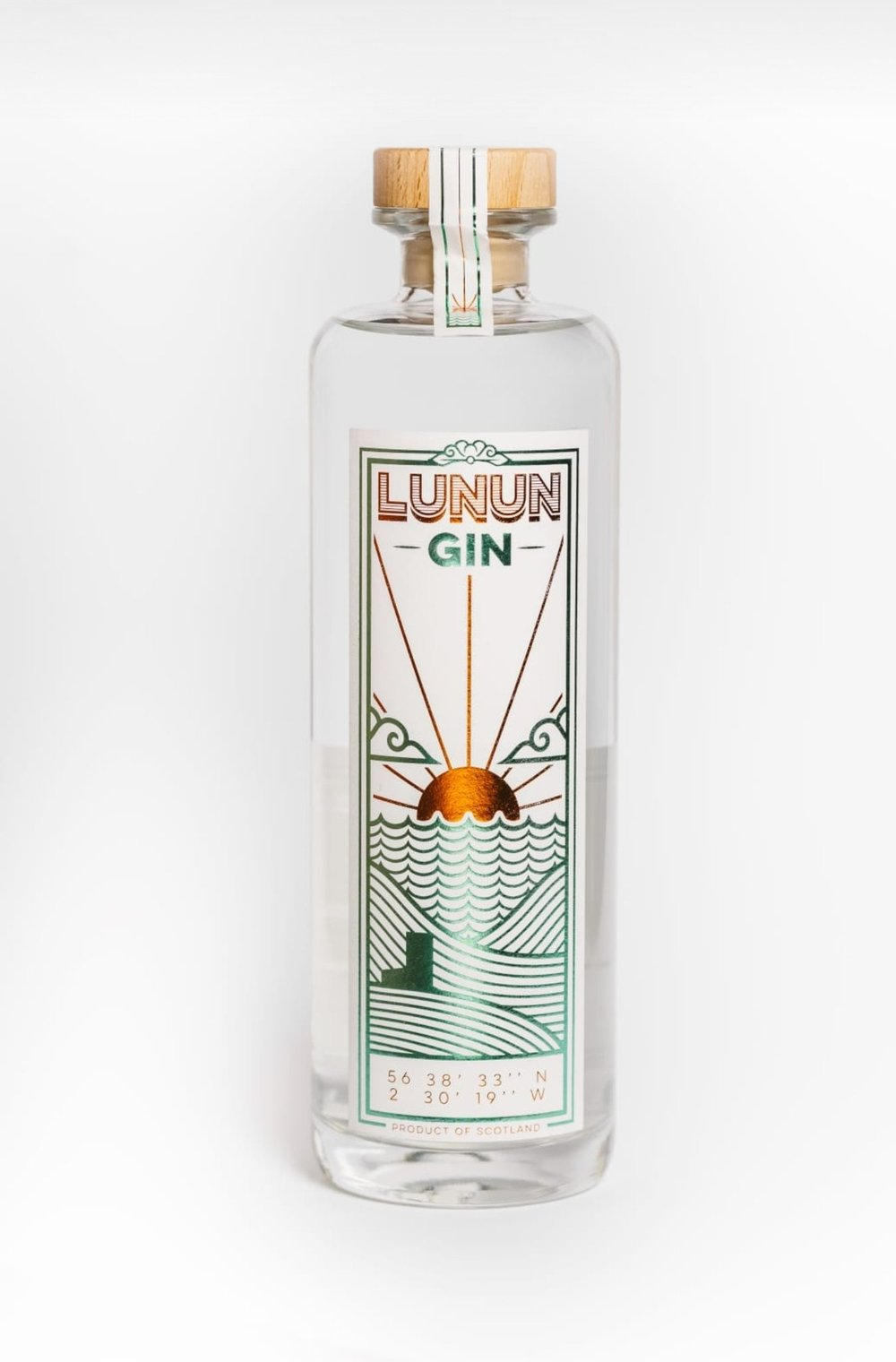 LUNUN GIN 70CL BY DEAN BANKS