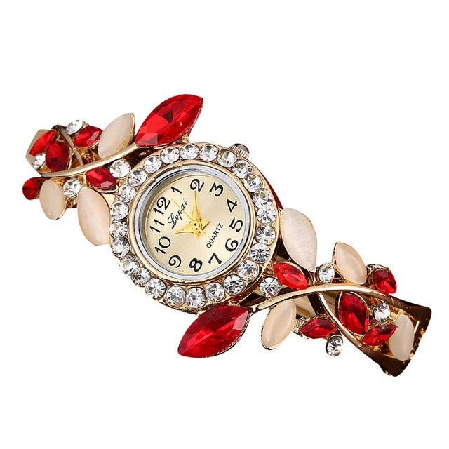 Luxury Flower Bracelet Watch