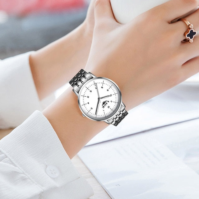 LIGE Fashion Watch Women