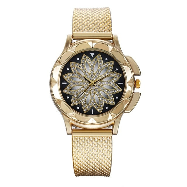 Fashion Ladies Steel Belt Watch