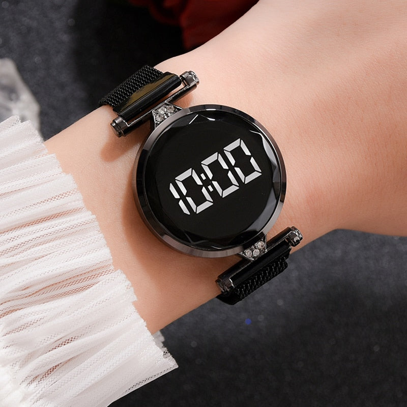 Luxury Digital Magnet Watch