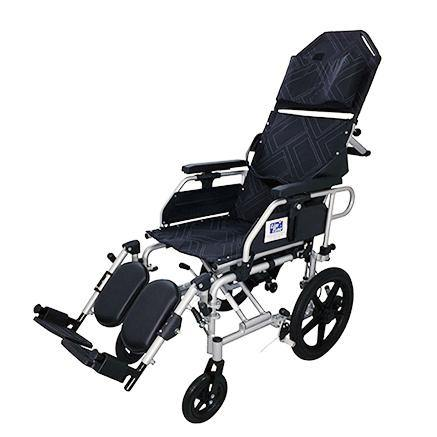 Aluminium Light Weight Recliner Push Chair - Lifeline Corporation