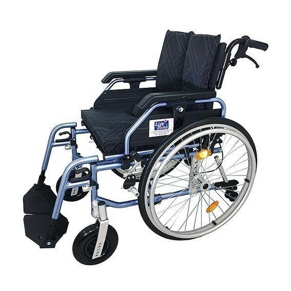 Aluminium Semi Custom Built Wheelchair - Lifeline Corporation