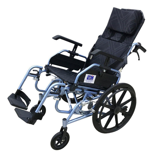 Aluminium Light Weight Tilt in Space Wheelchair - Lifeline Corporation