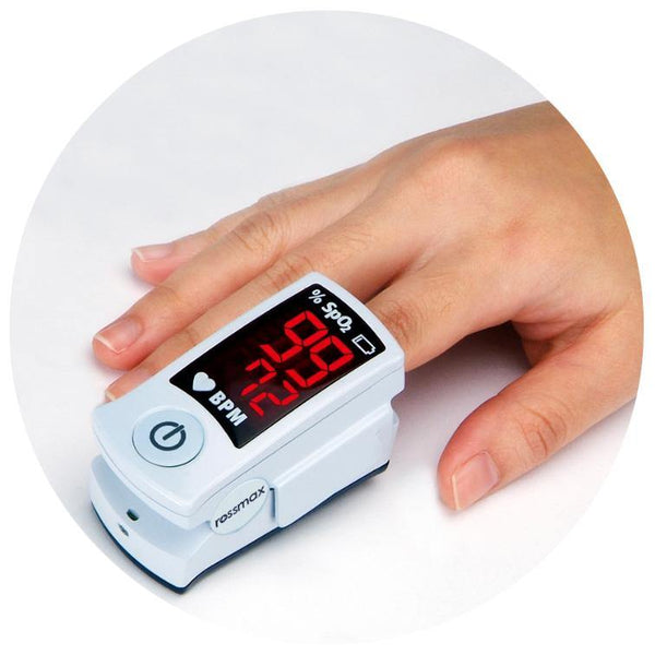 Fingertip Pulse Oximeter - Rossmax SB100 - Lifeline Corporation