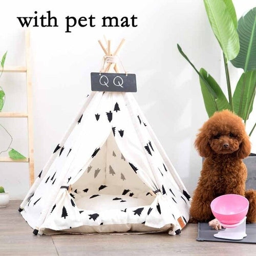 Tee Pee Bed for Puppies